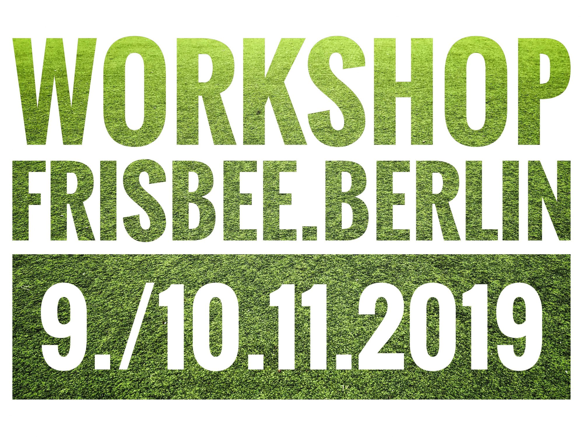 Einladung zum Workshop frisbee.berlin