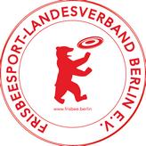 FLB-Logo: Bär mit Scheibe